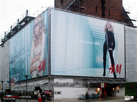 Madonna For Hm Billboard Vandalized by More Hm Billboards From Germany Madonnatribe Decade