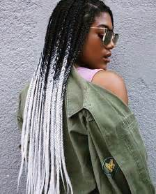 black to grey ombre box braids hairstyles 25 best ideas about colored box braids on pinterest