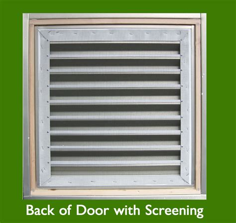 Door Vents Louvers Vents And Grilles For The Hvac Industry