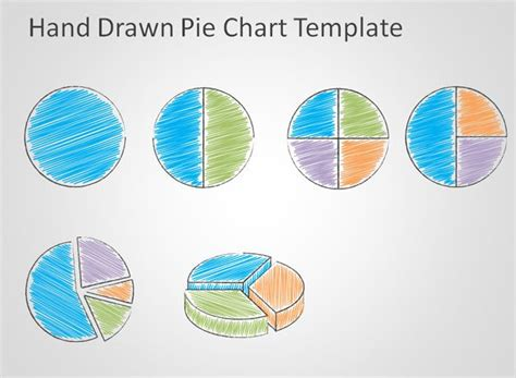 free doodle ppt template free pie chart template for powerpoint free