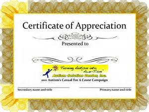 Free Printable Certificate Of Appreciation Templates by Certificate Of Appreciation Templates Great Printable