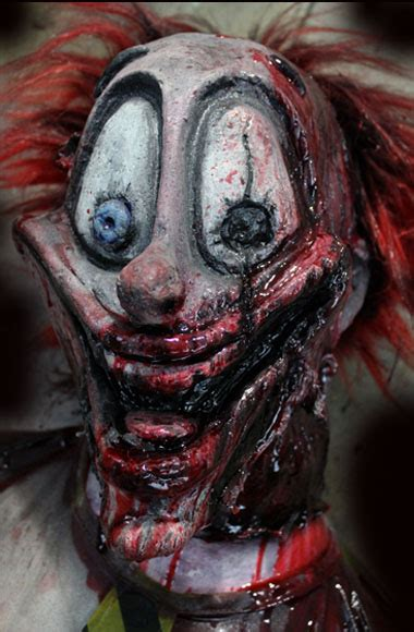 halloween haunted house clown killer prop