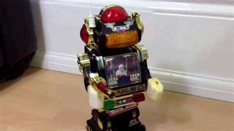 robot hong kong film vintage 1985 plastic star robot made in taiwan by son ai
