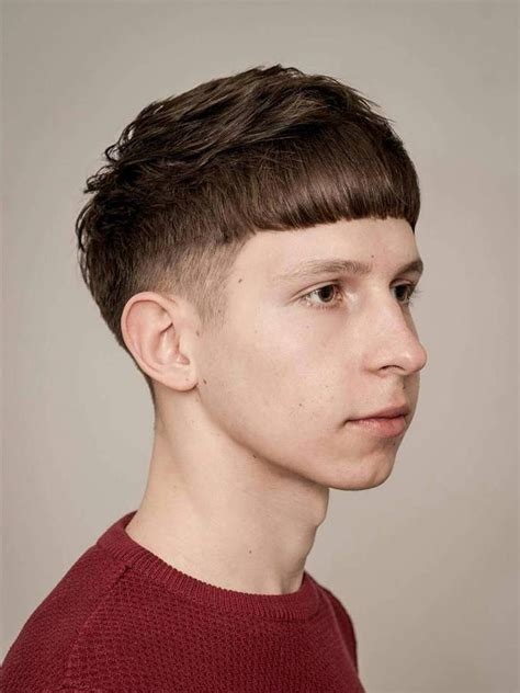 hair cut styles for boy with cowlik 8 best french textured crop hairstyle images on pinterest