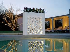 Outdoor Wall Pots And Plants Design By Bysteel