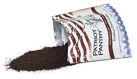 Patriot Pantry by Franklin S Finest Survival Coffee 60 Servings Sporting