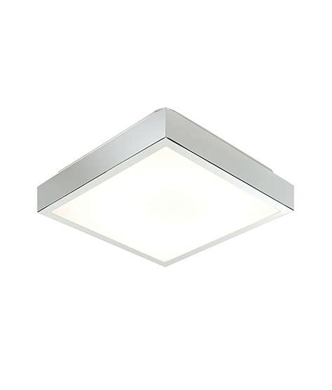 Square Bathroom Light Square Chrome Flush Bathroom Fixture For 2d Fluorescent Ls
