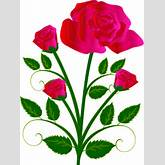 Single Pink Rose Clipart Free Clipart Images