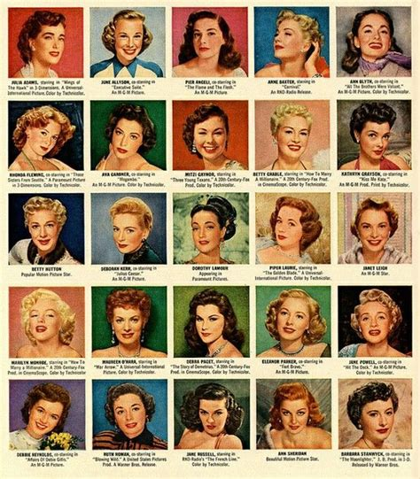 Hair Style Book Pdf by 84 Best Images About 1950 S Hairstyles On Pdf