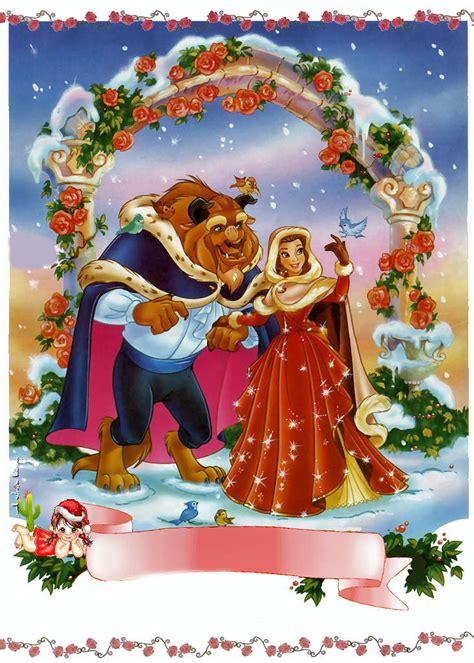 imagenes feliz navidad disney princesas disney en navidad