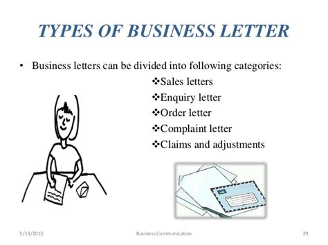 Letter In Business Communication Business Communication