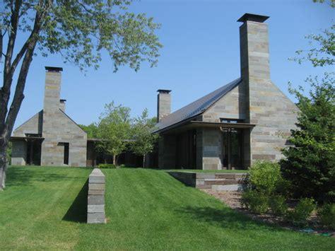 modern chimney suburban modern