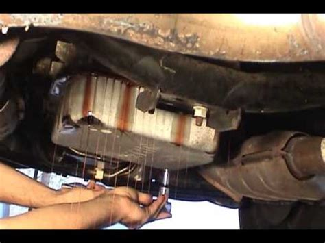 how to remove transmissio on a 1997 lincoln mark viii 1995 ford crown victoria transmission fluid change youtube