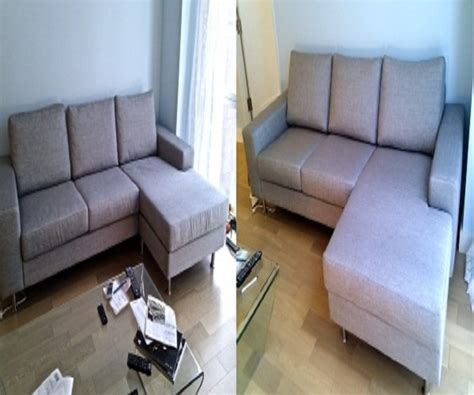 In Home Furniture Repair Service Before And After Images How To Disassemble Recliner Sofa