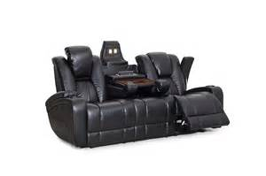 Home Theatre Sofas Review Seatcraft Transformer Reclining Sofa With Power And