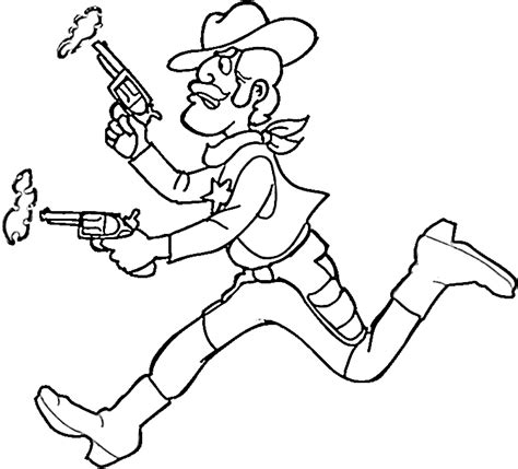 cowboy coloring pages 7 purple kitty