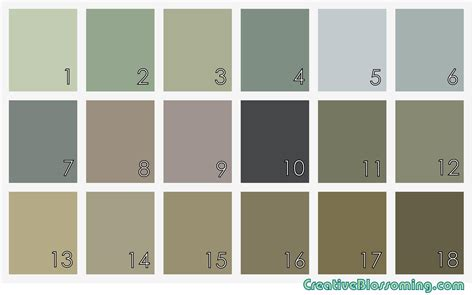 what colors are earth tones earth tone paint color chart earth tone paint color chart