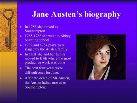 biography for jane austen jane austen woman writer of the 19th century
