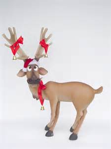 pop art decoration religion and holidays reindeer