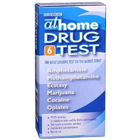 at home test 6 panel drugstore