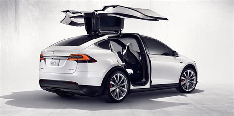 How To Open Tesla Doors Tesla Model X Revealed Via Configurator Photos 1
