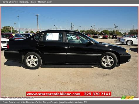 2003 chevrolet impala ls 2003 chevrolet impala ls in black photo no 71559832