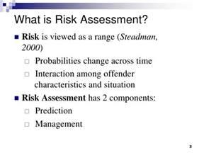 forensic psychology risk assessment