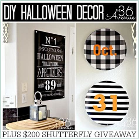 Halloween Giveaway Ideas - halloween decor ideas and giveaway the 36th avenue
