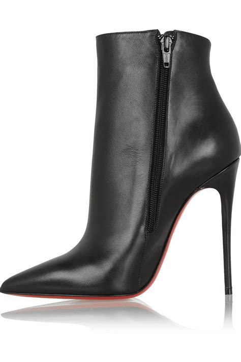 so ankle boots lyst christian louboutin so kate sole ankle