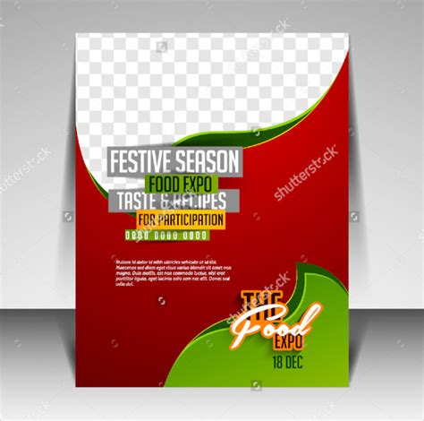 21 food flyer templates psd free eps format download