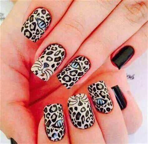 imagenes de uñas lindas pintadas foto u 241 as pintadas como leopardo muchas fotos