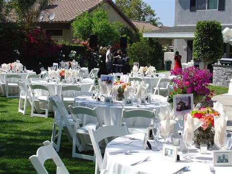 backyard wedding on a budget low budget weddings