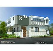 100 Sqyds30x30 Sqft West Face House 1bhk Elevation Viewjpg