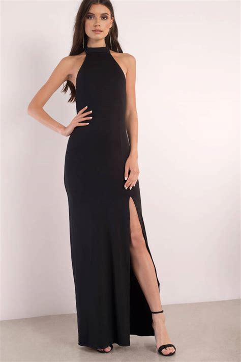 Longdress Maxy Dress Black Dresses Black Dresses Black Cocktail