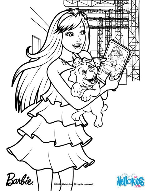 coloring pages for barbie princess and the popstar barbie princess and the popstar coloring pages coloring
