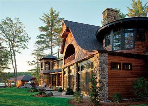 awesome log cabins 36 pics