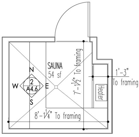 sauna floor plans sauna design construction build blog