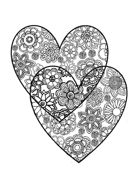 abstract coloring pages hearts abstract heart color pages google search amy inspired