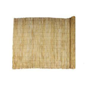 hampton bay  ft    ft  natural reed bamboo garden