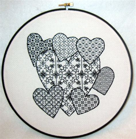 blackwork pattern blackwork pattern for you to try red work black work