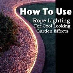 garden rope lights 1000 ideas about rope lighting on led