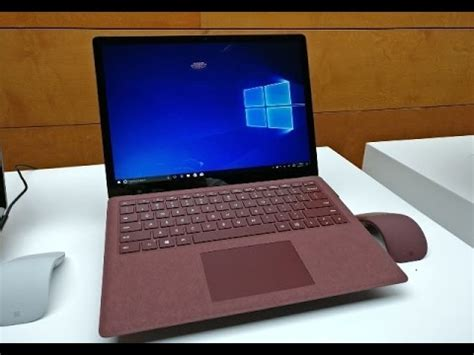 microsoft surface laptop intel i5 8gb ram 256gb burgundy price in usa 1 299
