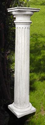 colonne da giardino colonne da esterno pannelli termoisolanti