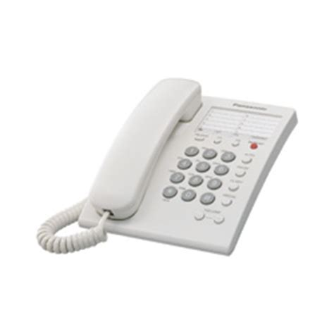Lu Emergency Panasonic panasonic kx ts550 single line corded phone kx ts500 w