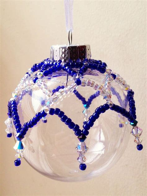 beaded ornament cover pattern christmas by feithhodgecreations