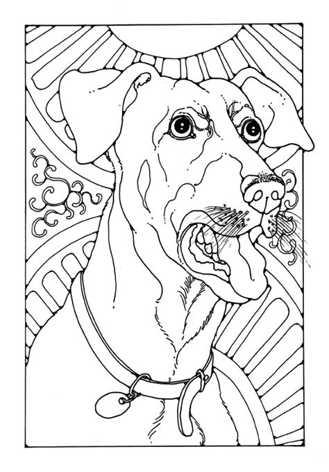 barking dog coloring page bark jpg 563 215 808 adult coloring pages pinterest