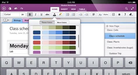 onenote app for android microsoft overhauls onenote apps for ios and android