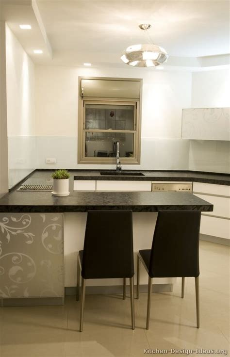 kitchen peninsula with seating pictures of kitchens modern white kitchen cabinets