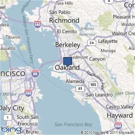 california map east bay map of east bay california california map