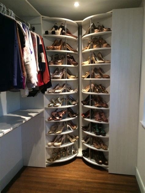 Closet Carousel by The Revolving Closet Organizer A Must In Every